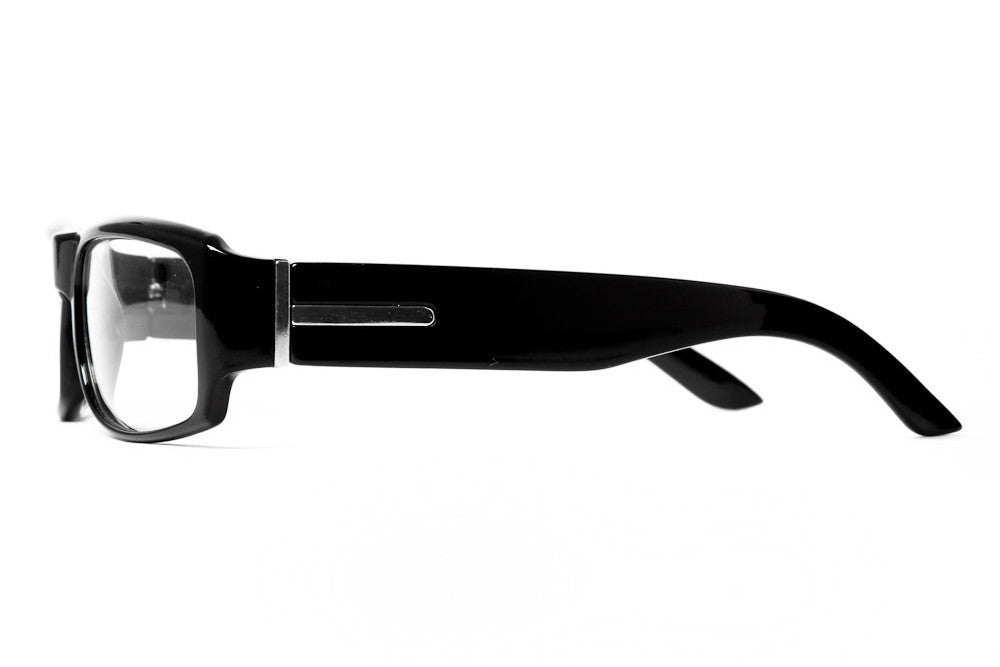Atom Square Clear Lens Glasses