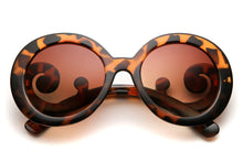 Baroque Women's Round Frame Sunglasses