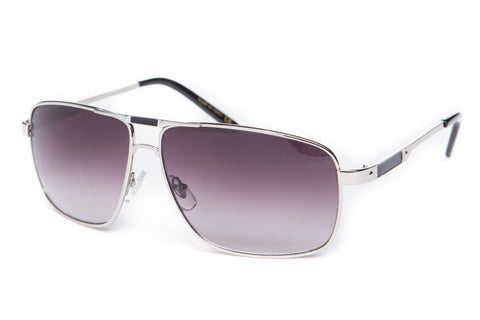 Berdoo Square Metal Aviator Sunglasses