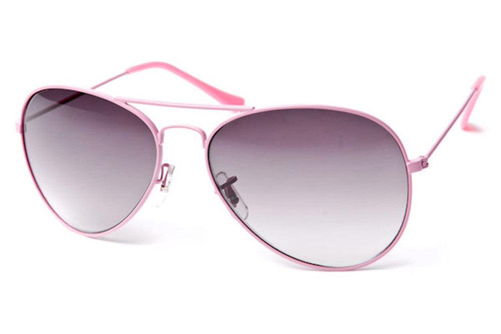 Delight Colored Metal Aviator Sunglasses