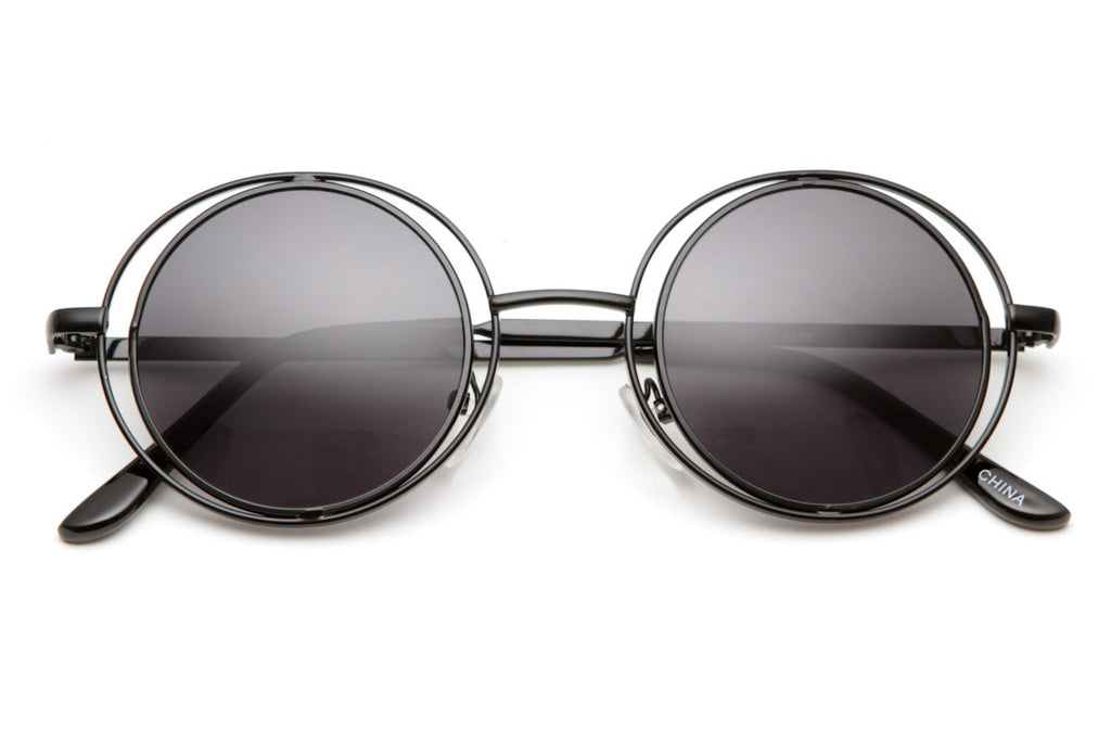 GROOVUNIQUEROUNDHIPPIESTYLESUNGLASSES