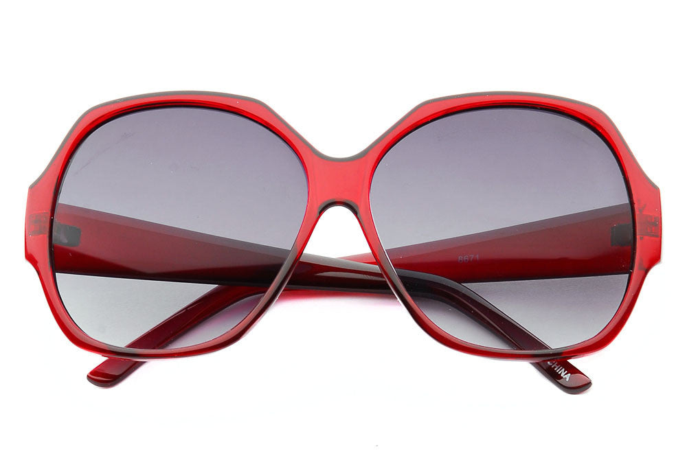 Holly Butterfly Frame Oversized Sunglasses