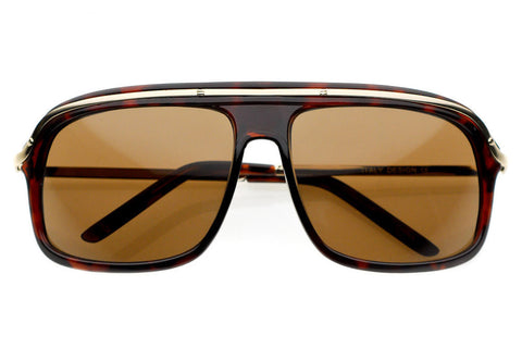 Jacobs Retro Plastic Aviator Sunglasses