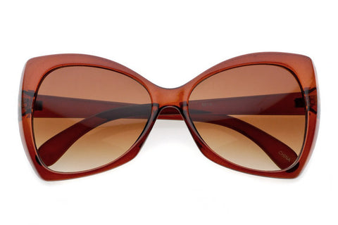 Katy Women's Oversized Butterfly Sunglasses