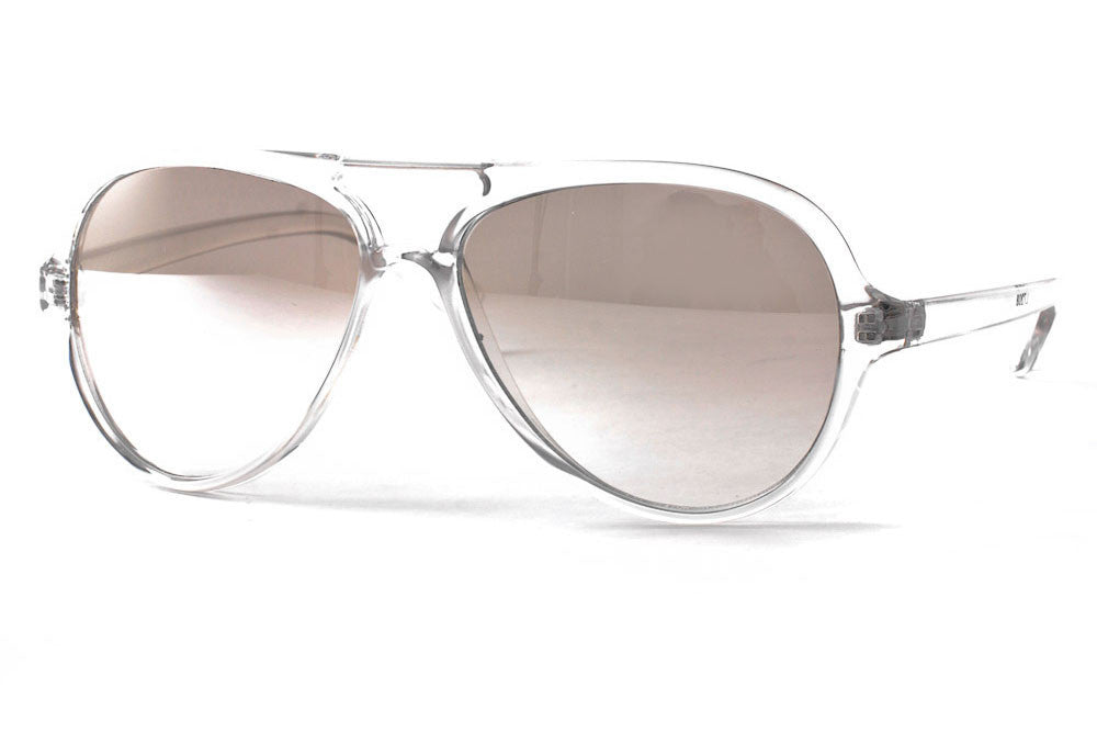 Ledger Plastic Aviator Sunglasses