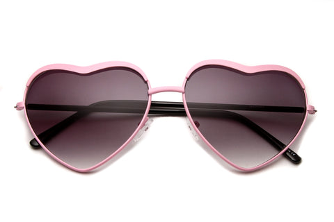 Michalynn Heart Shaped Sunglasses