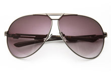 Port Metal Frame Aviator Sunglasses