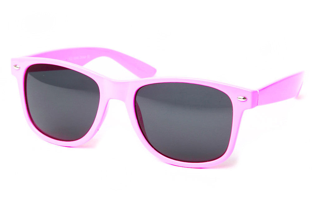Retro Collection Poolside Colored Wayfarer Sunglasses