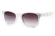 Retro Collection Splatter Colored Wayfarer Sunglasses
