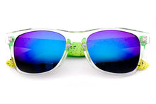 Splatter Multi Colored Wayfarer Sunglasses