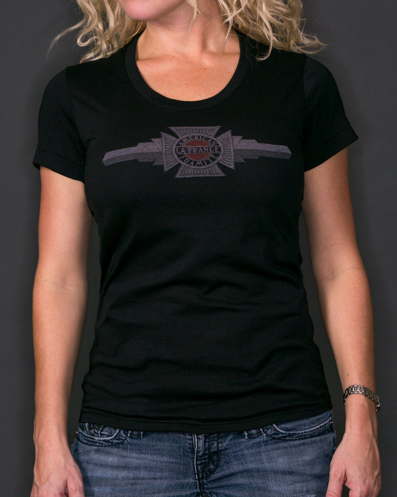 American LaFrance | Black T-Shirt | Women