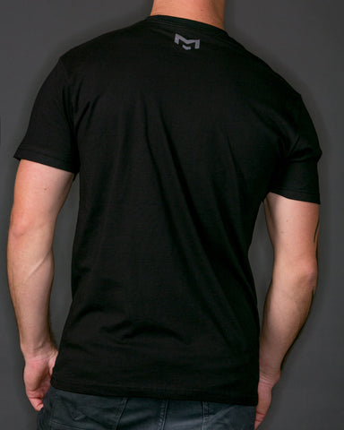 Monogram | Black T-Shirt