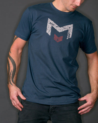 Monogram | Indigo Blue T-Shirt