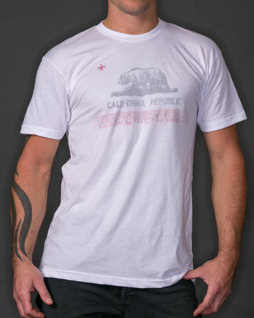 California Wildland | White T-Shirt - Shirts - 1