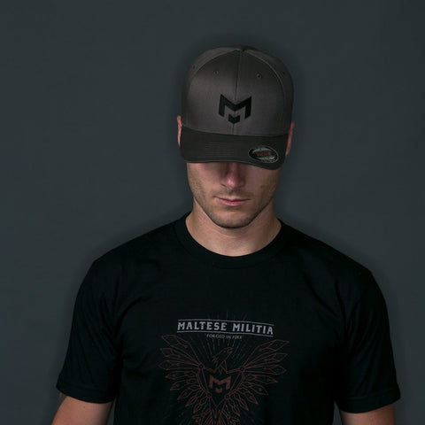 Monogram | Dark Grey Hat | L/XL