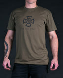 Icovellavna | Military Green T-Shirt - Shirts - 2