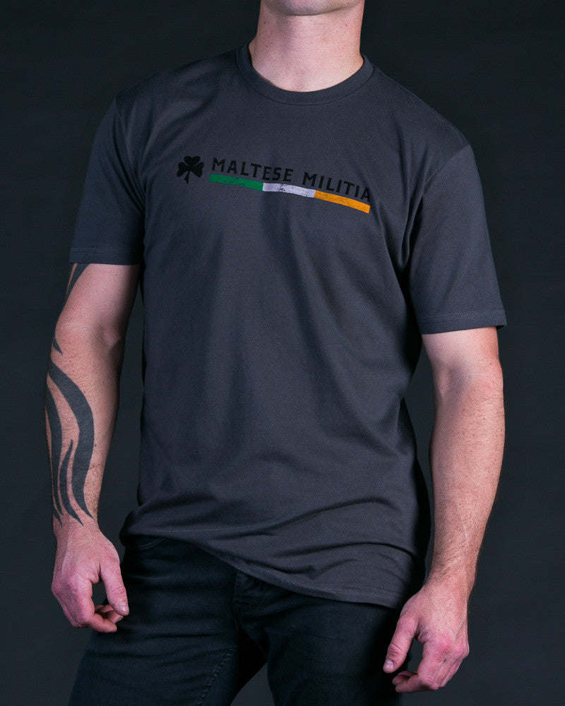 Irish Pride | Gunmetal Grey T-Shirt - Shirts - 1