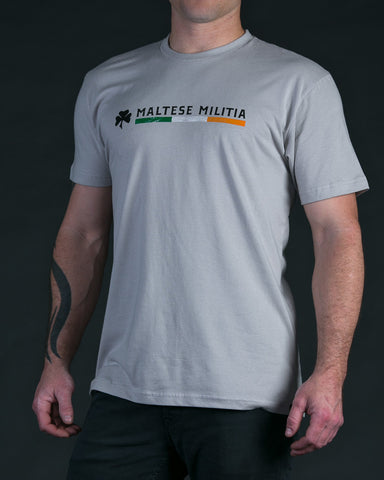Irish Pride | Sand White T-Shirt