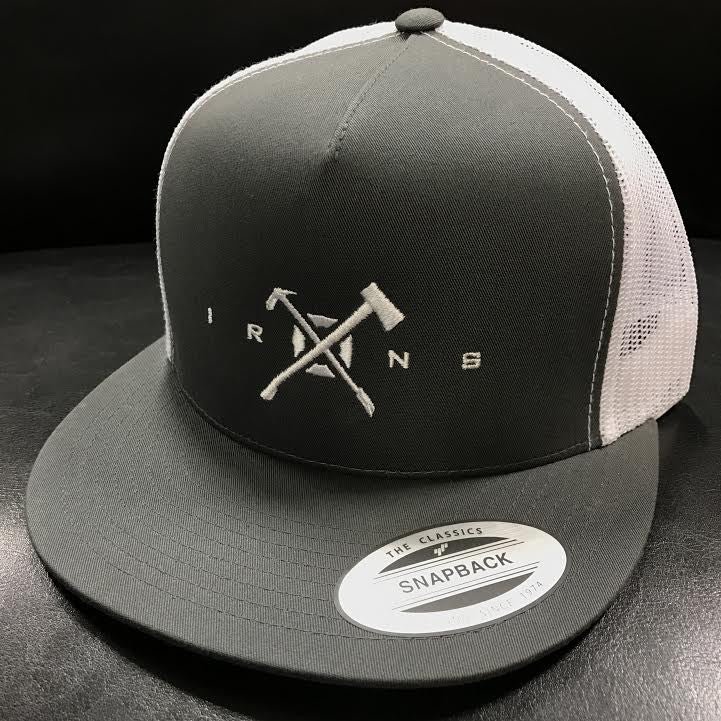 Keys to the City | Grey & White Snapback -