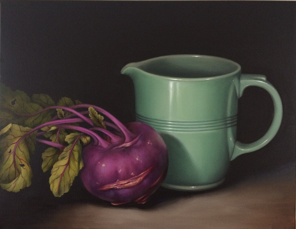 STILL LIFE WITH KOHLRABI