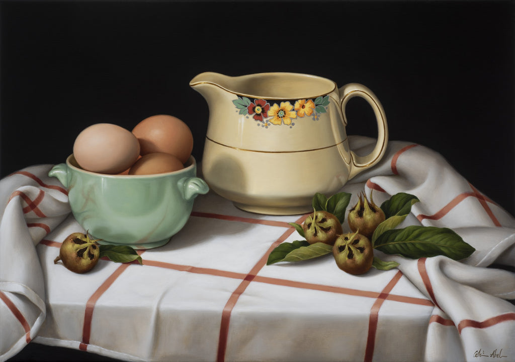 STILL LIFE WITH MEDLARS