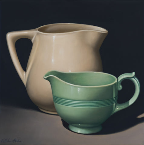 STILL LIFE WITH BERYL WARE JUG