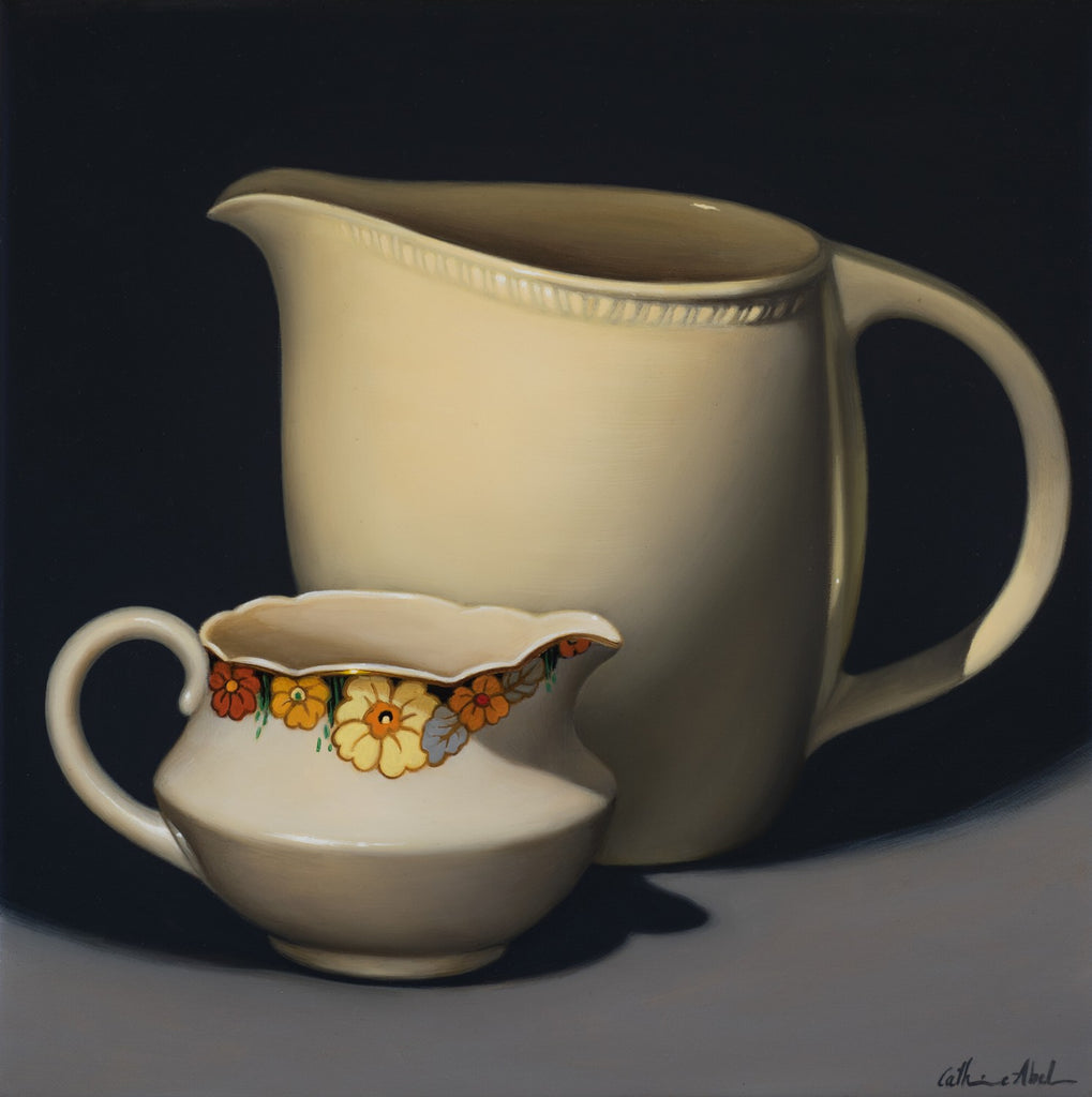 STILL LIFE WITH LITTLE FLOWER JUG