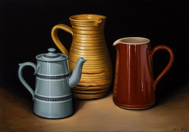 STILL LIFE WITH THREE VESSELS