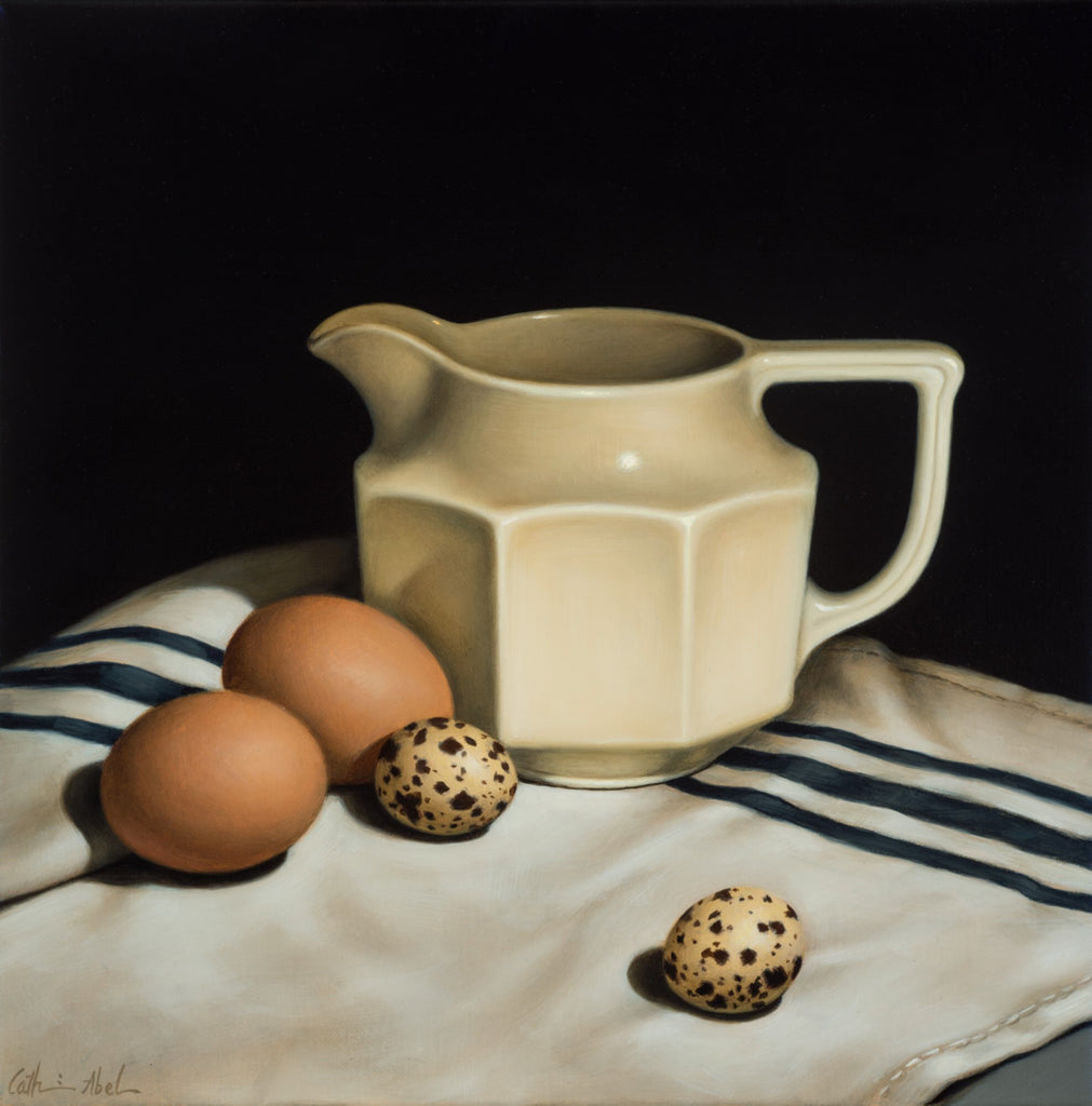 STILL LIFE WITH CREAM JUG
