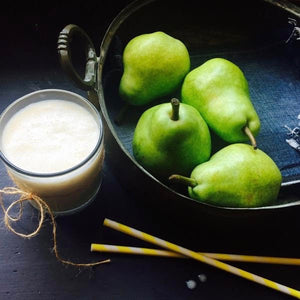 Pear Flaxseed Drink – Dry Skin Remedy