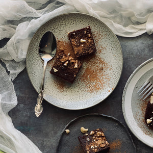 Vegan Carob Brownies