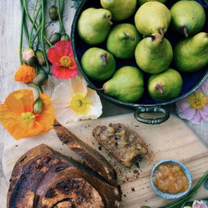 Pear and Vanilla Jam - Low Salicylate Recipe for Eczema
