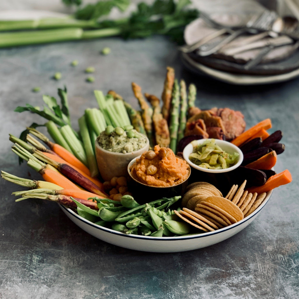 Vegetable Grazing Platter (with Eczema Friendly Ingredients)