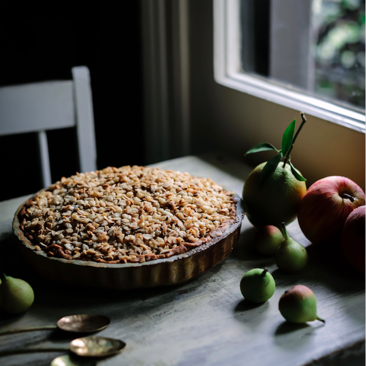 Baked Pear Crumble (from The Eczema Detox)