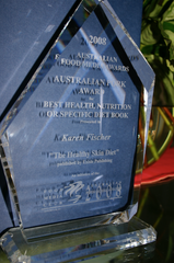 Healthy Skin Diet book award