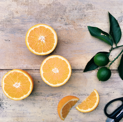 Oranges and eczema image