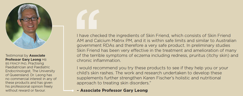 Doctor's comments about Skin Friend