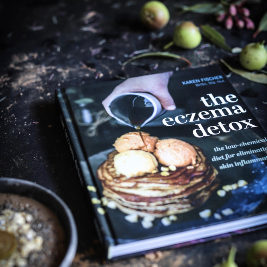 the eczema detox by karen fischer