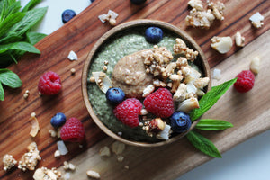 Matcha Protein Chia Seed Pudding