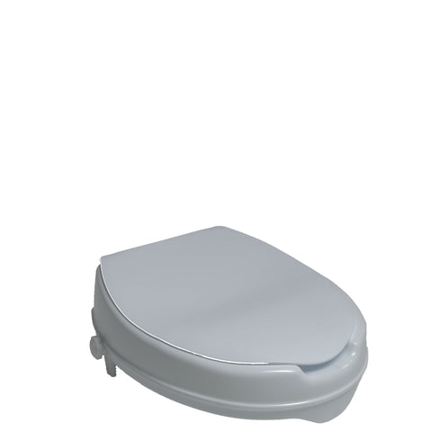 Toilet Seat Riser W Lid 2 Quot Elevation Free Shipping
