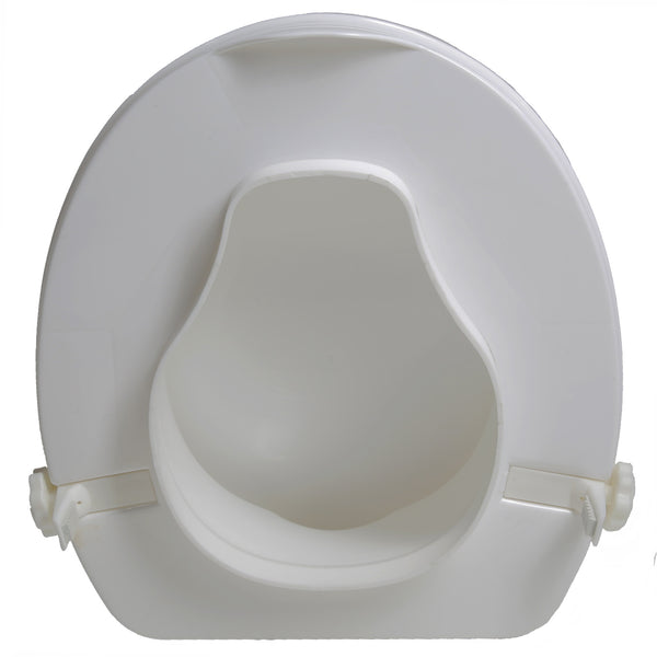 Toilet Seat Riser W Lid 4 Quot Elevation Free Shipping