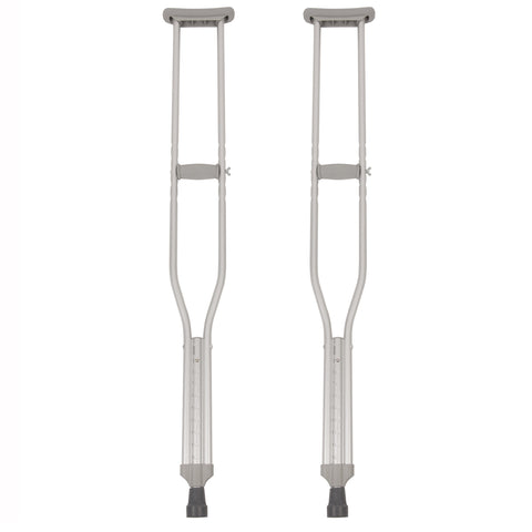 Lightweight Tall Push-Button Crutches