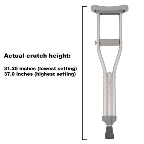 Push-Button Crutches, Child