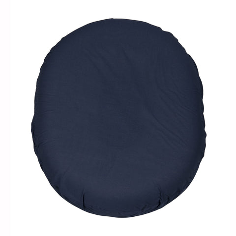 Foam Ring Cushion w/ Navy Cover, 14""