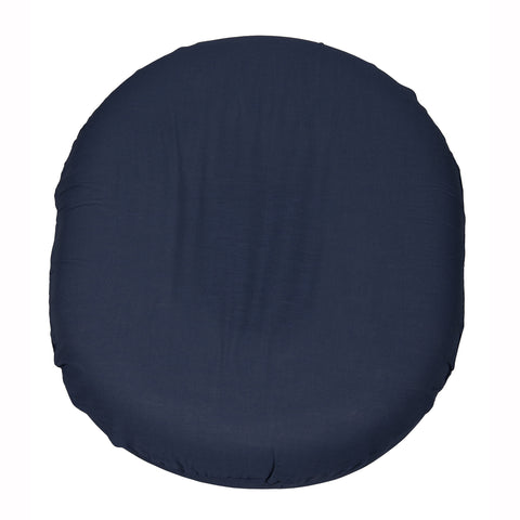 Foam Ring Cushion w /Navy Cover, 18""
