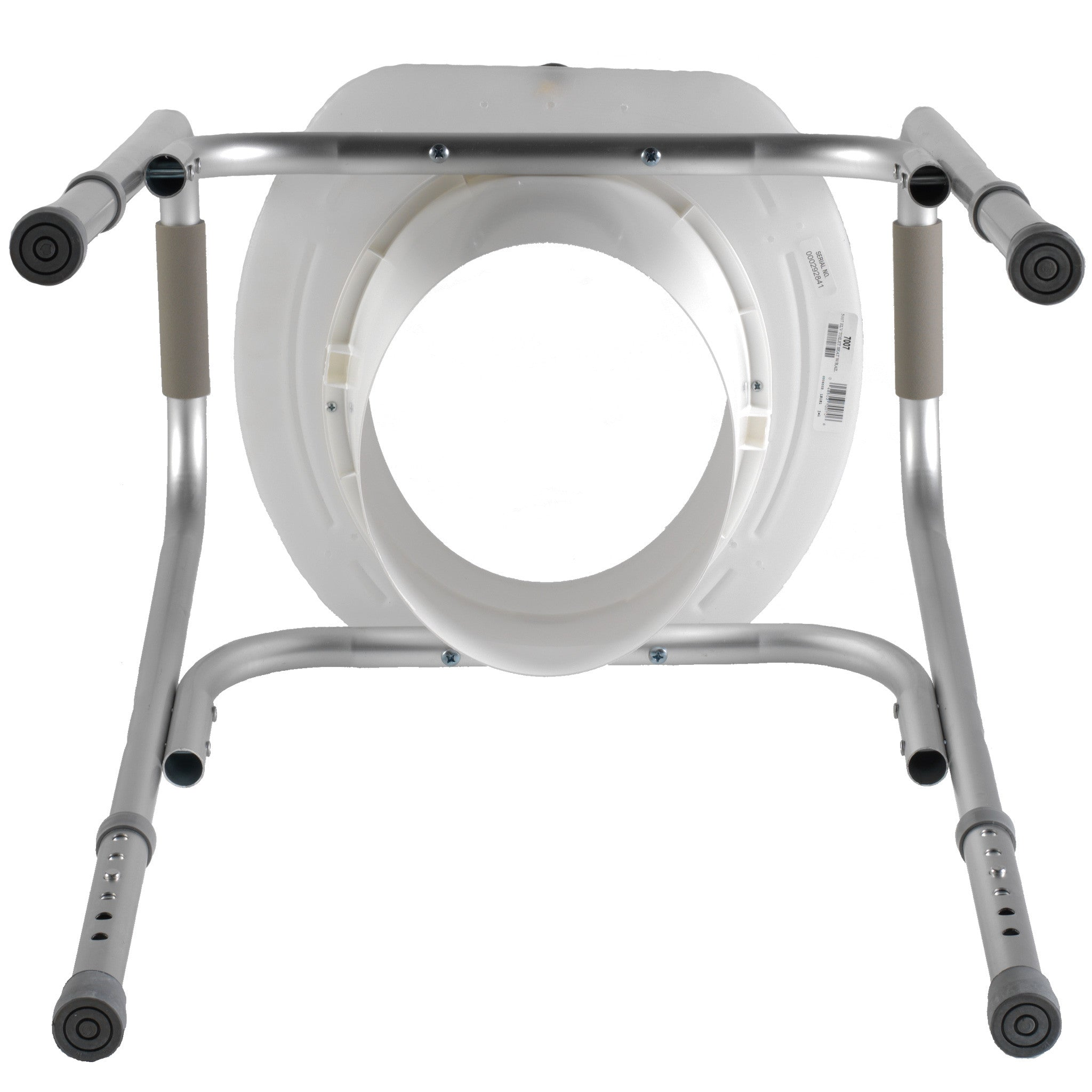 Raised Toilet Seat w/ Safety Frame - Pre-Assembled, Free Shipping ...