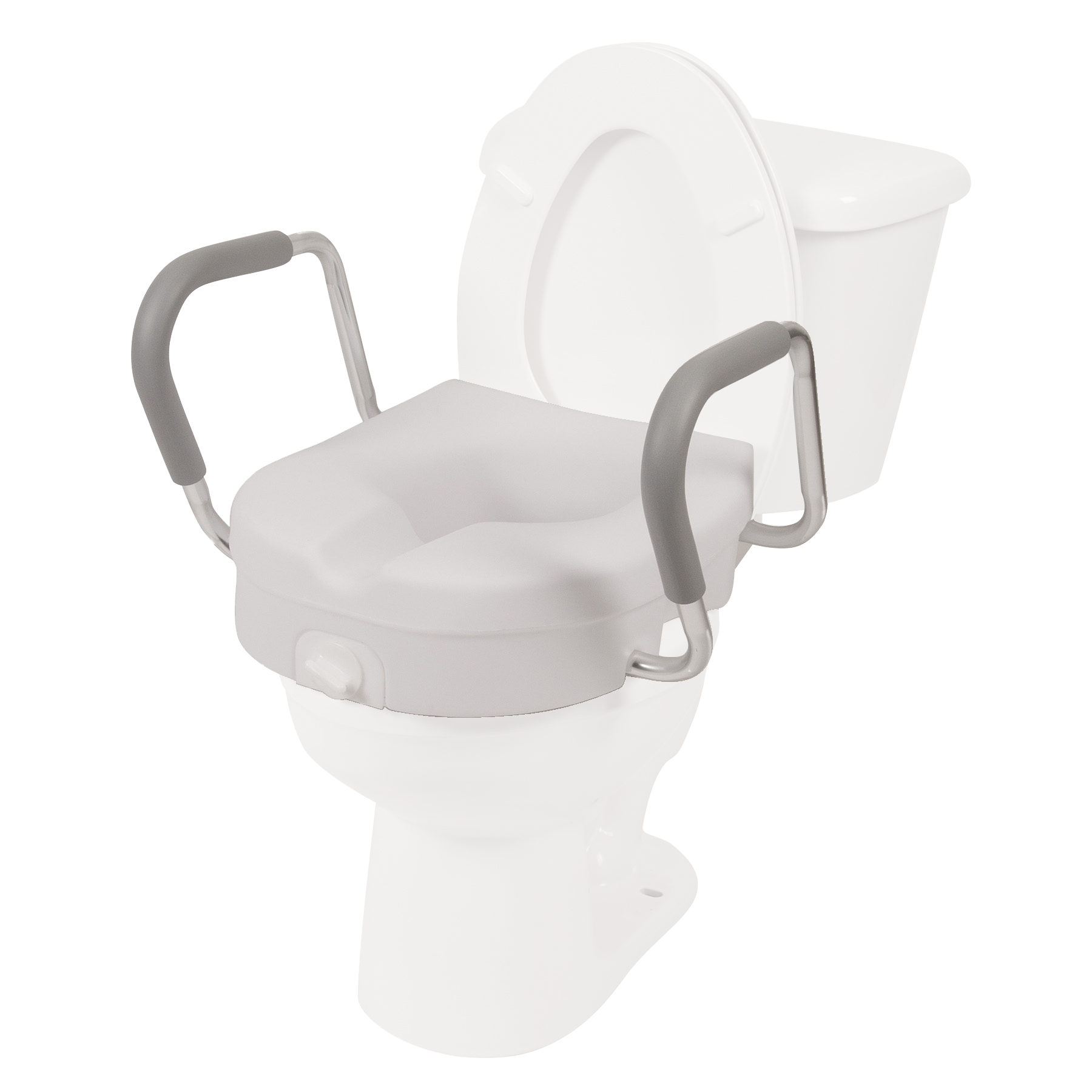 Toilet Seat Riser W Removable Arms Free Shipping Home