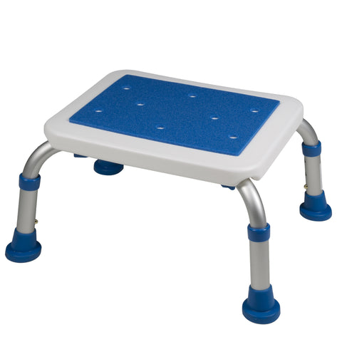14 x 8 inch non-slip bath safety step stool