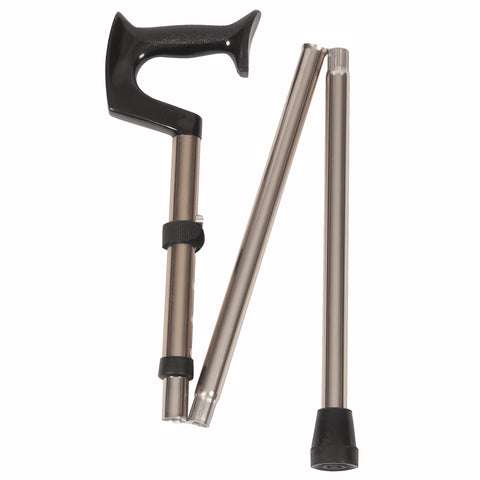 Orthopedic Bronze Folding Cane