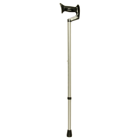Silver Cane, Large Orthopedic Handle